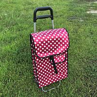 Тачка сумка с колесиками кравчучка каркасная , фото 1