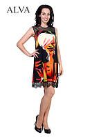 Платье летнее с цветами  8489, фото 1