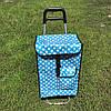 Тачка сумка с колесиками кравчучка каркасная