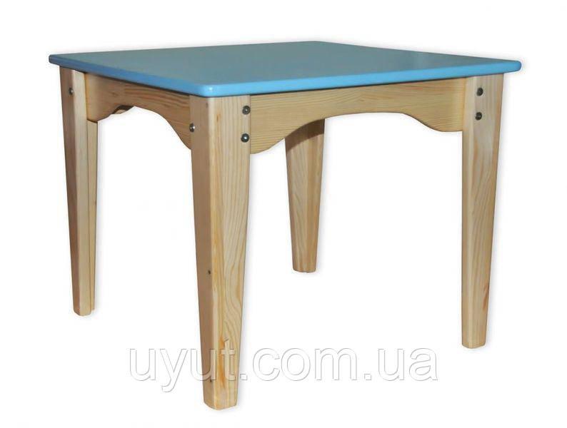 Столик комбинированный синий