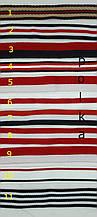 Тесьма репсовая в цветную полосочку, ширина 2см(1 уп=47м)
