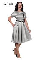 Платье серебро 8477, фото 1