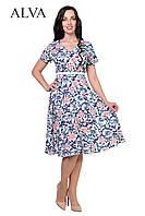 Платье с цветами 8493, фото 1