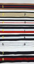 Тесьма репсовая в полосочку, ширина 2.5см(1уп =47м)