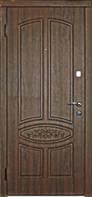 """Бронированные двери Неман """"Каскад"""" стандарт Гранат, квартира, улица"""