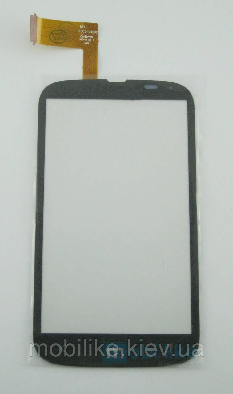 Сенсорний екран HTC Desire V (T328w) чорний
