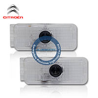 Citreon LED welcome light with LOGO