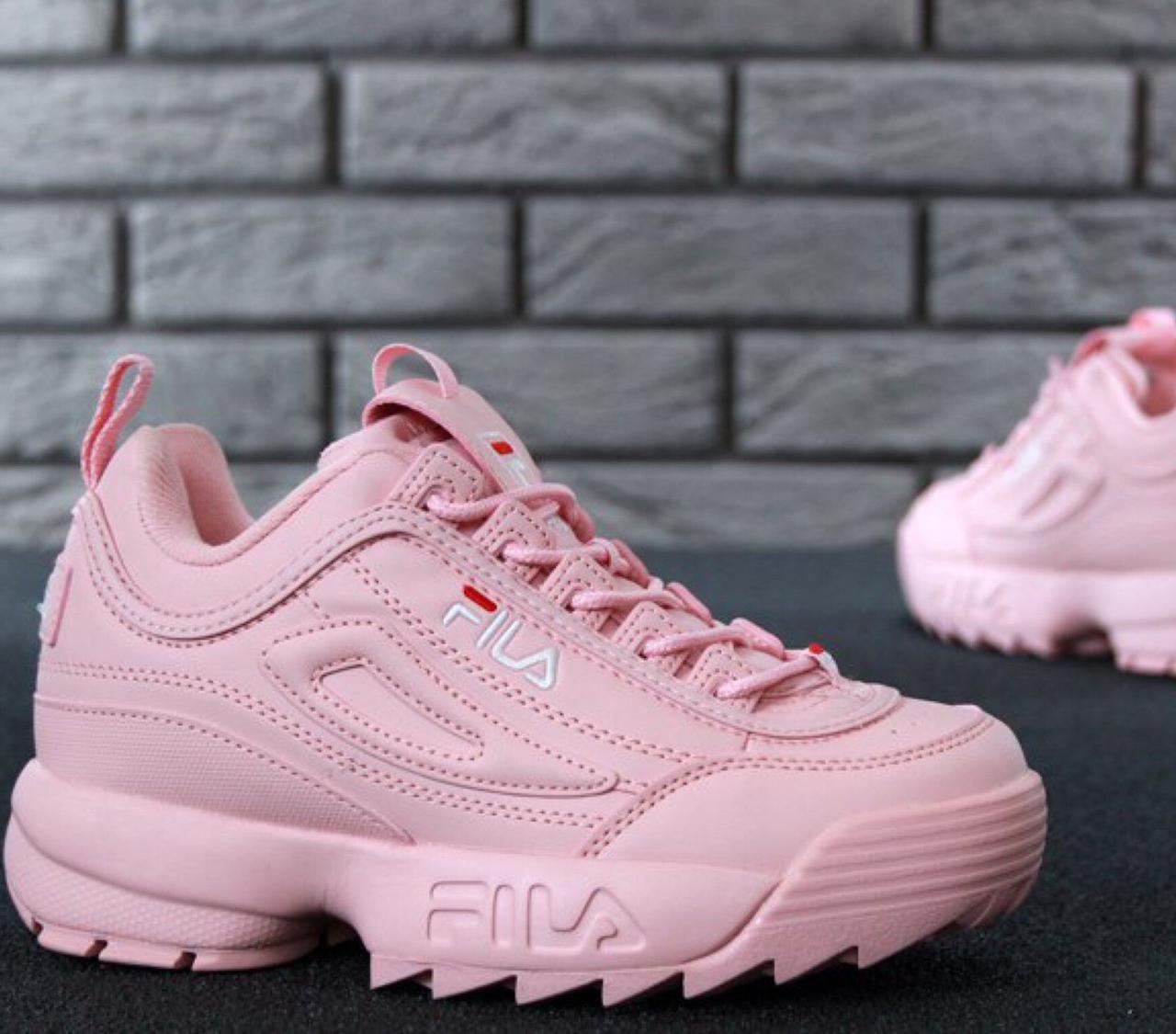 Женские кроссовки в стиле Fila Disruptor 2(II) Pink 39 - Интернет-магазин f34a5af10f0c0