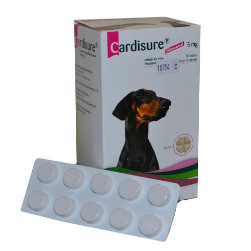 Cardisure (Кардишур) 5мг 100 таблеток (аналог Ветмедина)