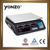 Весы торговые до 50 кг 6v калькулятор счетчик цен ваги торгові вага весы базарные 100/150/300/350/600