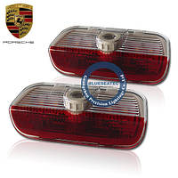 Porsche CAYENNE LED welcome light with LOGO