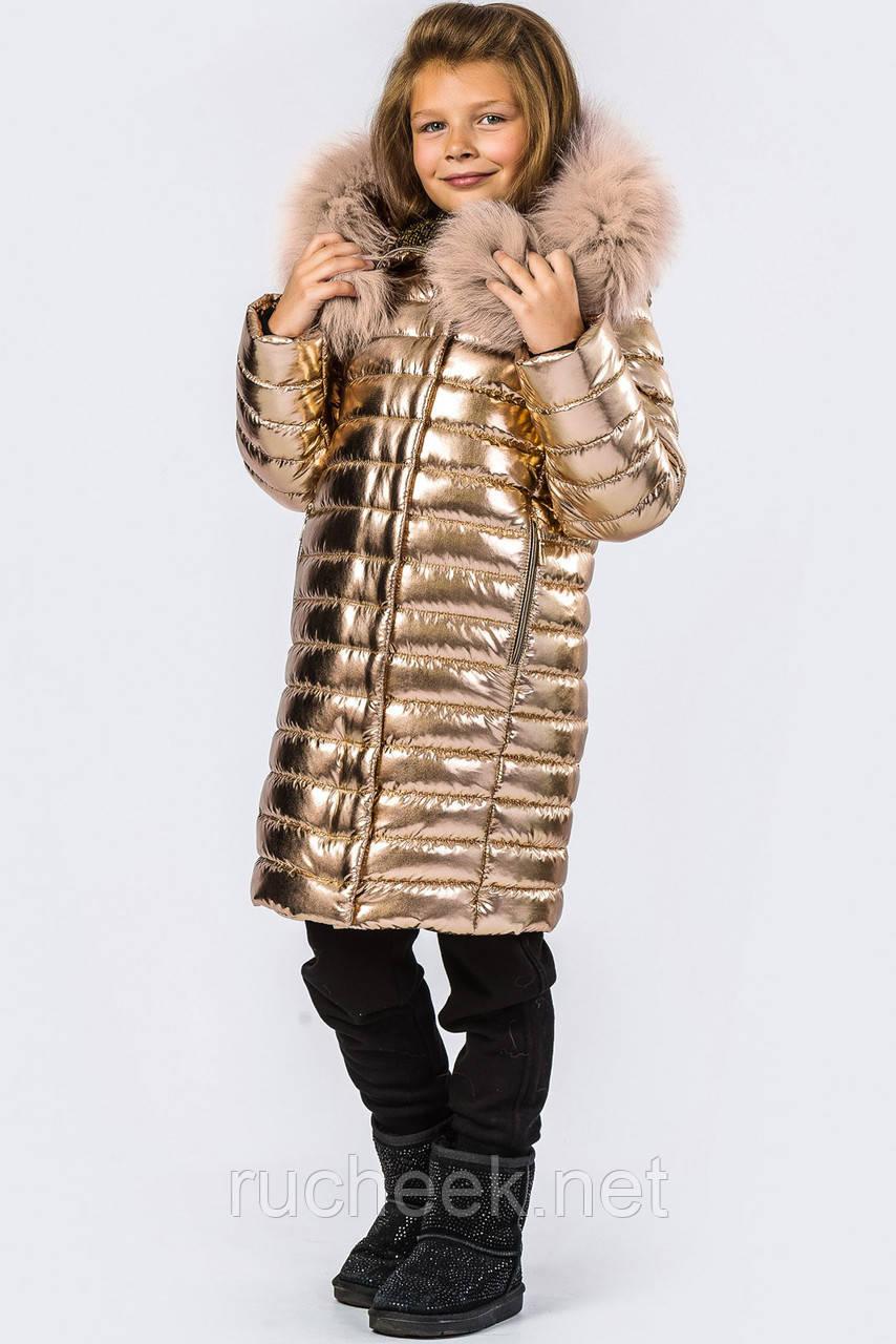 Детская зимняя куртка рост 134-140,  X-Woyz DT-8268-15