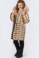 Детская зимняя куртка рост 134-140,  X-Woyz DT-8268-15, фото 1