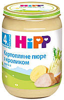 Пюре HiPP Картофельное пюре с кроликом 190г с 4мес 6173
