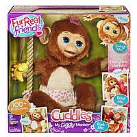 Fur Real Friends Интерактивная Смешливая обезьянка., фото 1