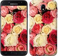 """Чехол на Samsung Galaxy J7 J730 (2017) Розы 7 """"2899c-786-5948"""""""