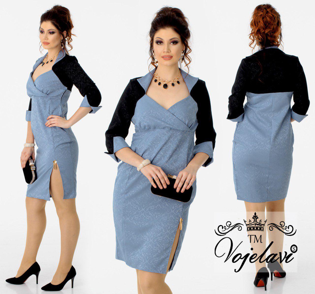 Элегантное хенское платье с разрезом A1081 оптом и в розницу, платья ... 8da9d195d16