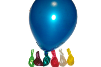 Воздушный шар металлик большой ассорти 16″/40см