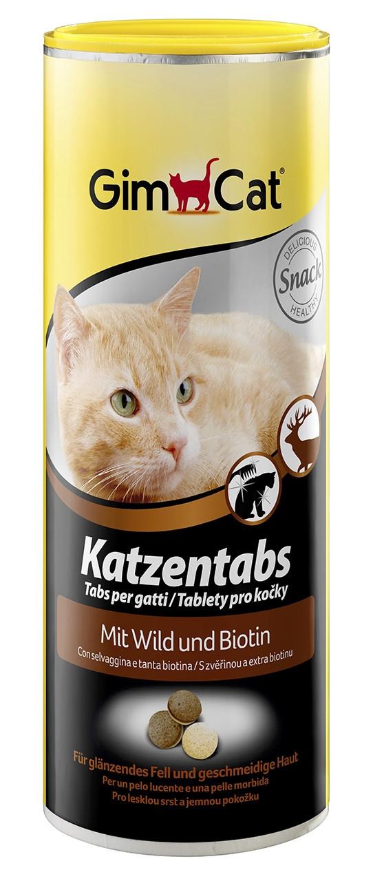 Gimpet Katzentabs витамины для кошек с дичью и большим содержанием биотина 710шт (408804)