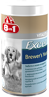 8in1 (8в1) Excel Brewer's Yeast 780 таб - Пивные Дрожжи для Собак