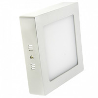 Накладной светодиодный светильник BIOM 18Вт квадрат Нейтральный белый 4000К