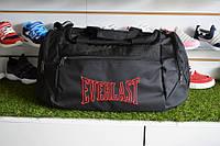 Спортивная сумка Everlast, мужская сумка для тренировок черная , копия, фото 1