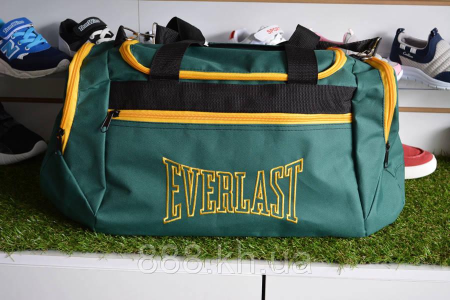 Спортивная сумка Everlast, мужская сумка для тренировок зеленая, копия