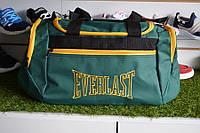 Спортивная сумка Everlast, мужская сумка для тренировок зеленая, копия, фото 1