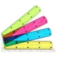 Лінійка CLASS 9010 Флекс 15см пластик, фото 2