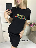 """Стильное платье мини """" Гучи """" Dress Code , фото 1"""