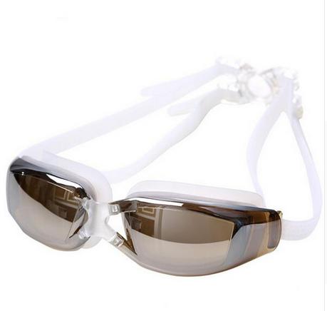 Водонепроницаемые противотуманные очки для плавания SUNROZ с защитой от ультрафиолета Белый (SUN1298)