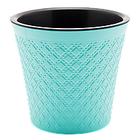 Вазон Гиацинт 0,6 л бирюзовый, фото 1