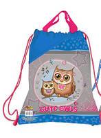 Сумка для обуви тканевая KIDIS CUTE LITTLE OWL
