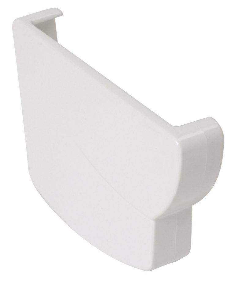 Заглушка ринви Nicoll Ovation ліва, система 28 Овація, колір білий