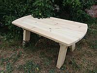 Деревянный журнальный стол из сосны прямой