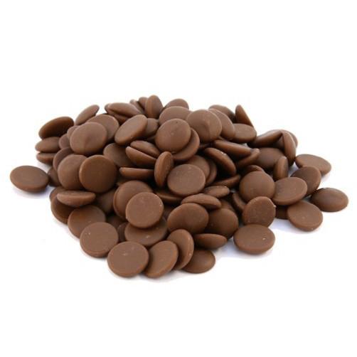 Бельгийский Молочный шоколад с Карамелью Barry Callebaut 100 грамм