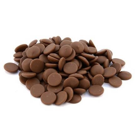 Бельгийский Молочный шоколад с Карамелью Barry Callebaut 100 грамм, фото 2