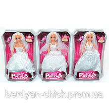 Кукла 82007 (48/2) Невеста, 3 вида, в слюде  24112