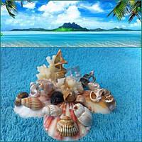 Морской сувенир ручной работы 10*10