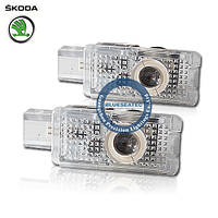 Skoda LED Welcome lamp with Logo