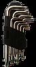 Ключі torx 9шт T10-T50мм CrV // Китай