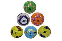 Мяч футбольный Official 1382: размер 5, PU (микс цветов), фото 1