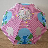 Детский зонт трость полуавтомат (принт), фото 1