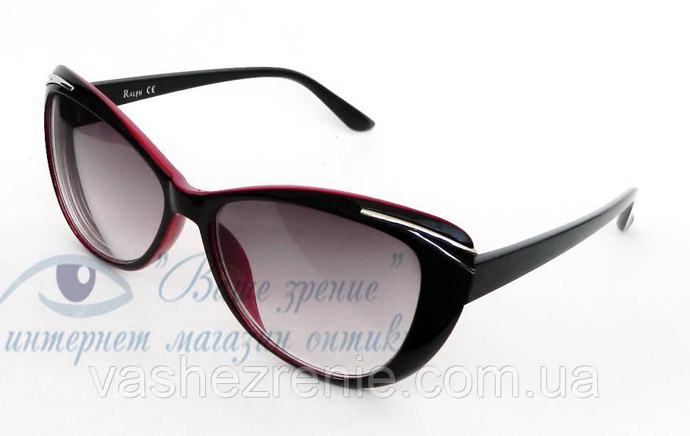 Очки женские для зрения, с диоптриями +/-, солнцезащитные. Код:1095