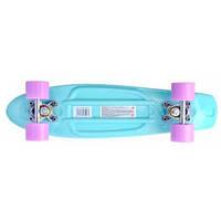 Скейт Пенни борд, 56 см, Аква, GO Travel LS-P2206BPS
