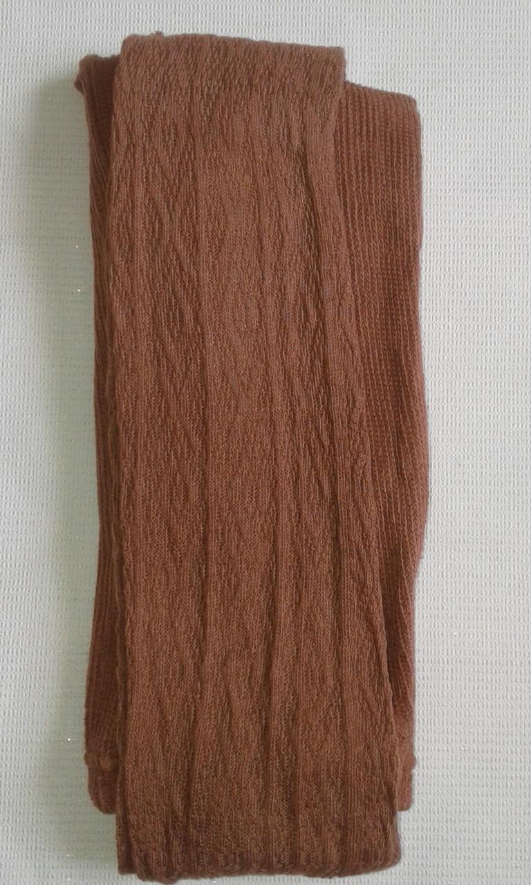 Колготки женские трикотажные р.52-56,коричневые. От 4шт по 33грн
