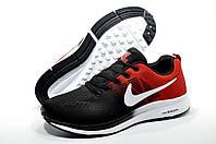 Мужские кроссовки в стиле Найк, Чёрный/Красный