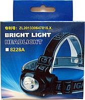 Діодний ліхтарик 8228-В, на 3 R3 батарейки