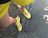 Кроксы-балетки женские жёлтые, фото 2