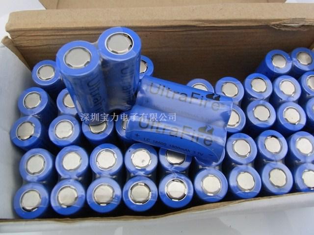 3.7v 1800mah литиевая батарея